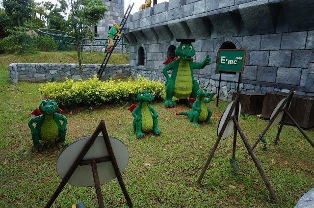 Cute Dinosaurs in Malaysia