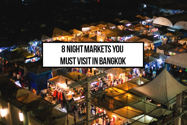 The 8 Best Night Markets in Bangkok