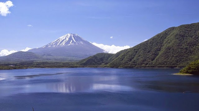 One of Fuji's five lakes