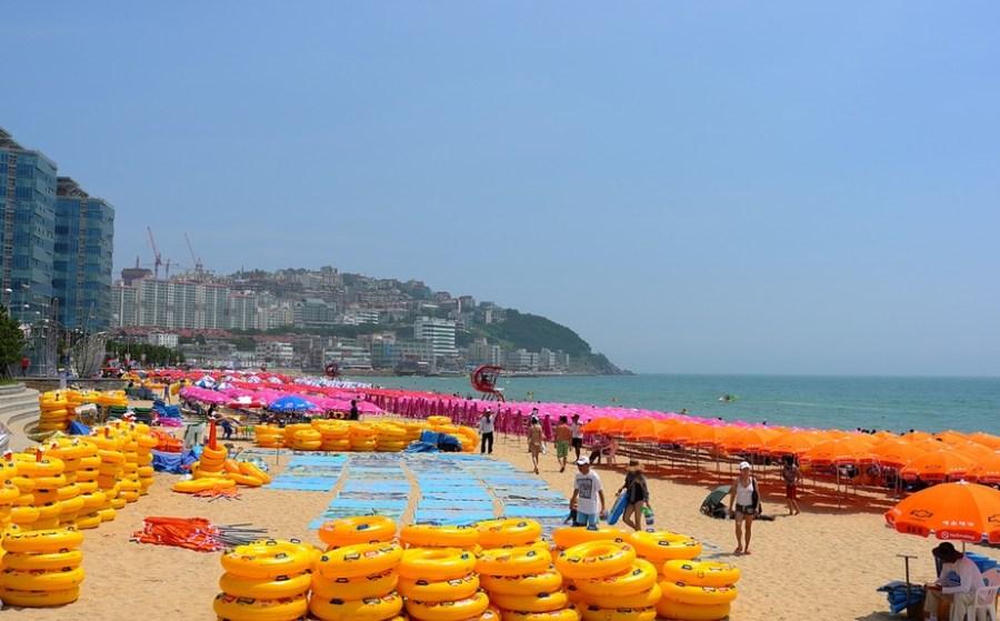 Busan, Korea: Haeundae Beach