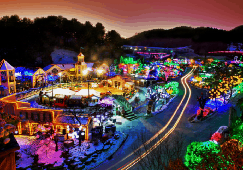 Pocheon Herb Island, Korea: Lights and Fairy Tale Festival
