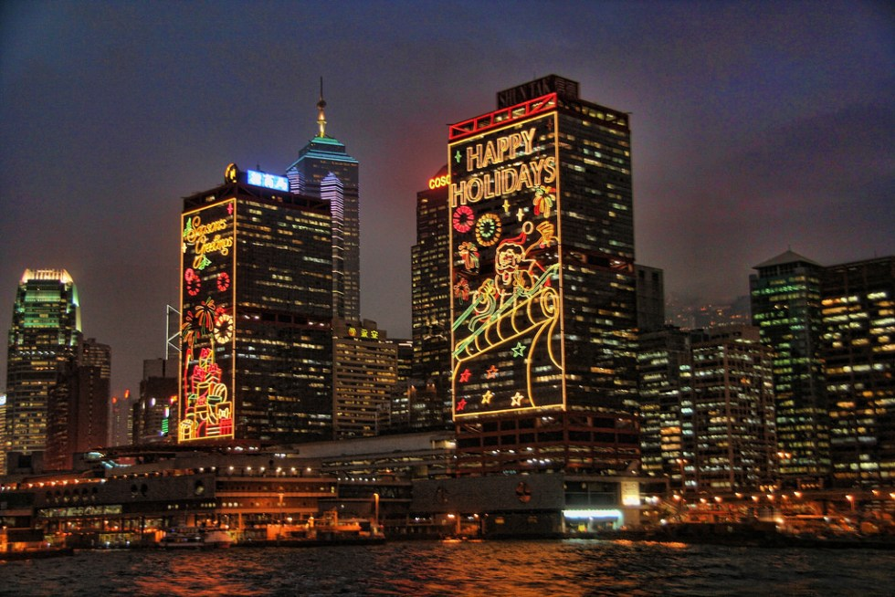 Christmas in Asia: Christmas in Hong Kong