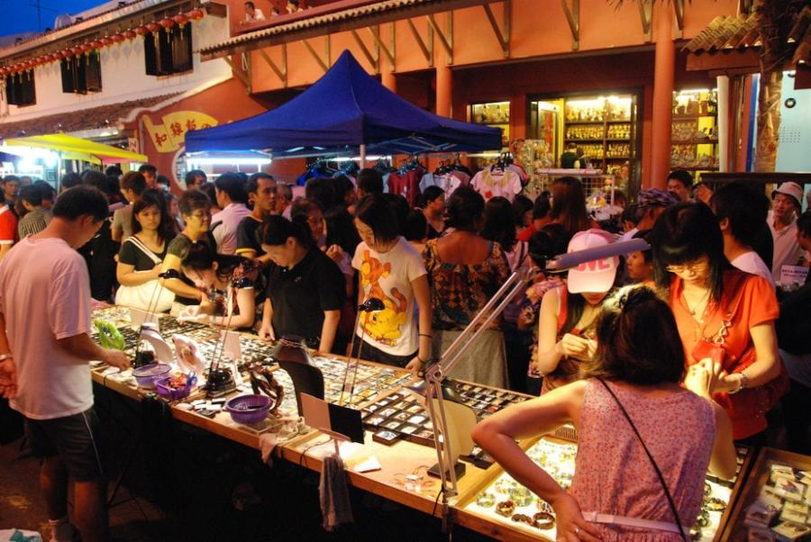 Malacca, Malysia: Jonker Street Night Market