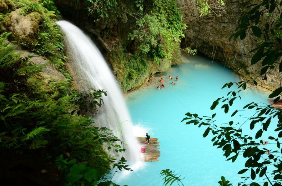 Perfect Summer Getaways in the Philippines: Kawasan Falls, Cebu