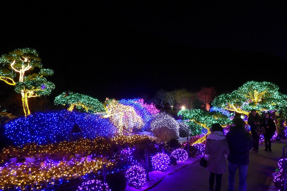 Christmas in Asia Lighting Festival at the Garden of Morning Calm & Spend your Christmas in Asia This Year azcodes.com