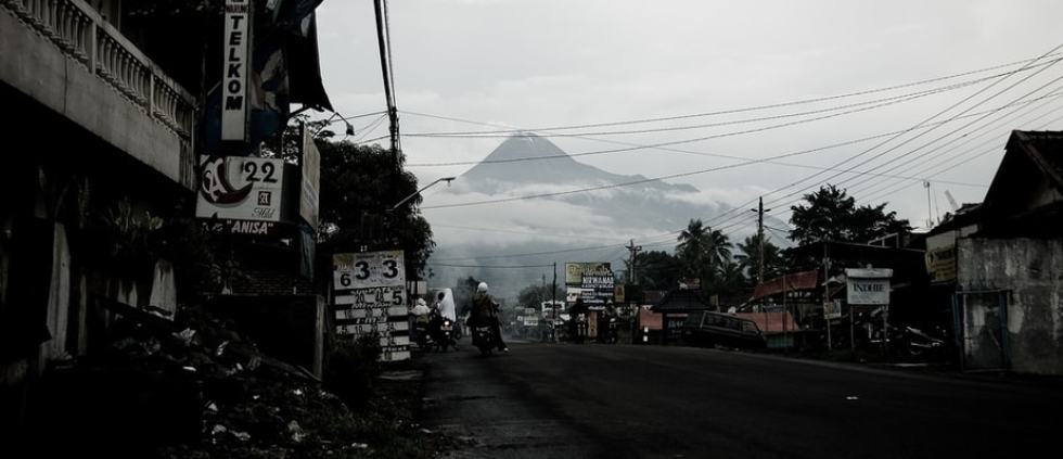 Yogyakarta, Indonesia: Mount Merapi