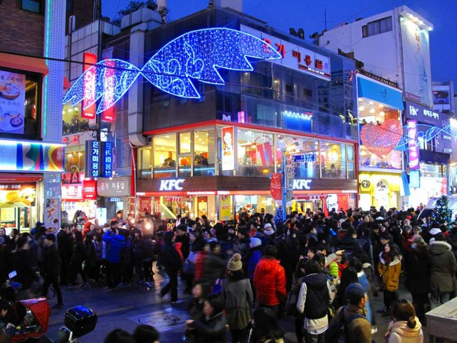 Busan, Korea: Shopping in the Gukje Market