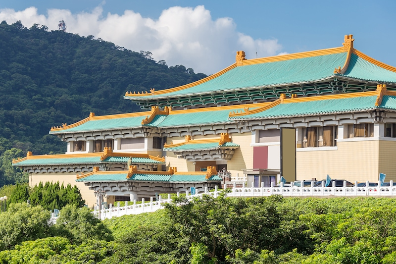 Taipei Train Guide: National Palace Museum at Shilin Station