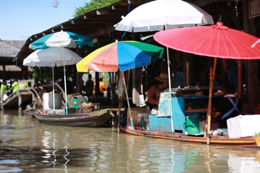 Pattaya, Thailand: Pattaya Floating Market