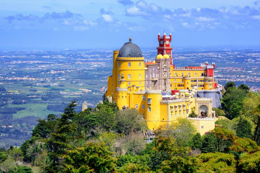 Pena Palace: Lisbon, Portugal