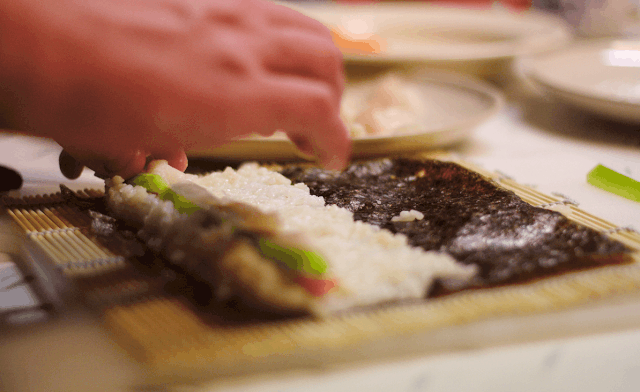 The Maki Sushi is relatively easy to make for beginners