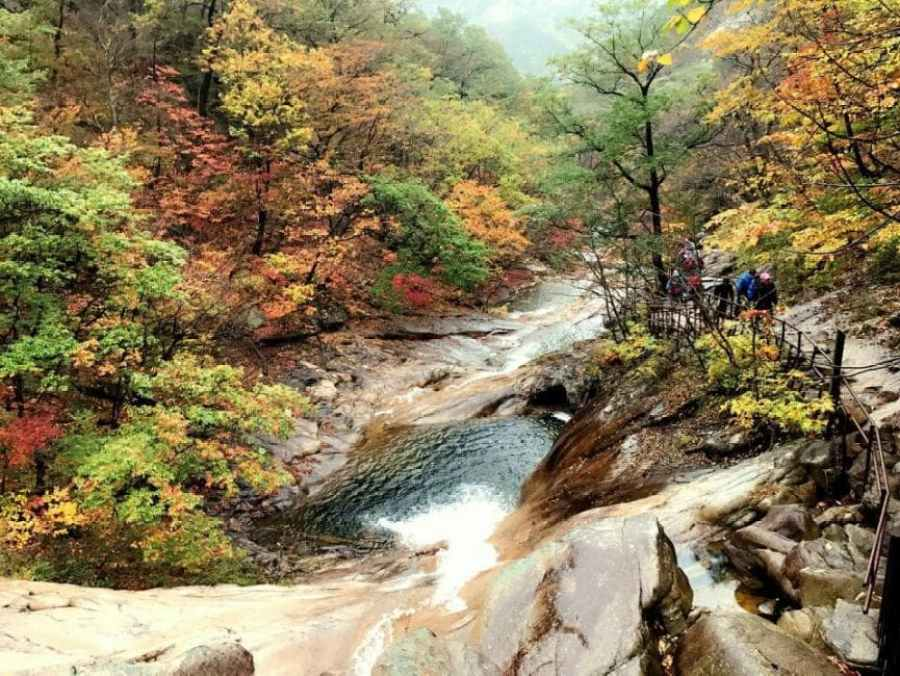 Fall in Korea: Seoraksan National Park