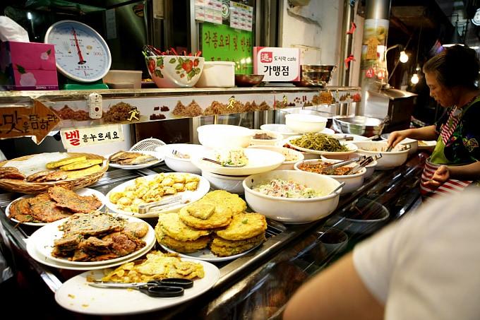 Seoul, South Korea: Tongin Market