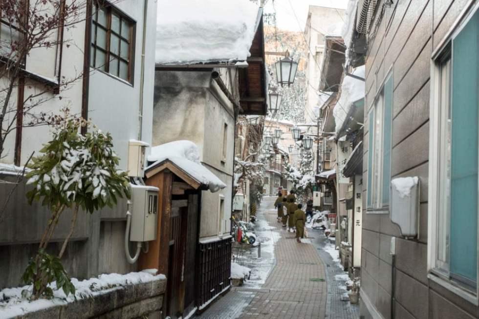 Japanese Onsens: Shibu Onsen