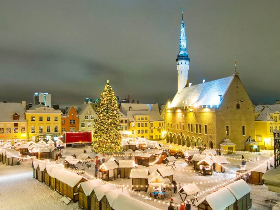 Best Christmas Markets in Europe: Tallinn Christmas Market