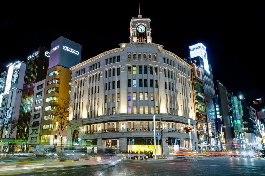 Guide to Tokyo's Shopping Districts: Ginza