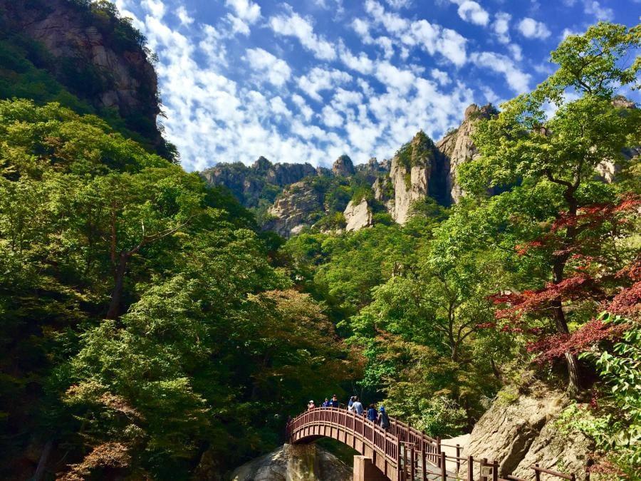 Fall in Korea: Seoraksan National Park