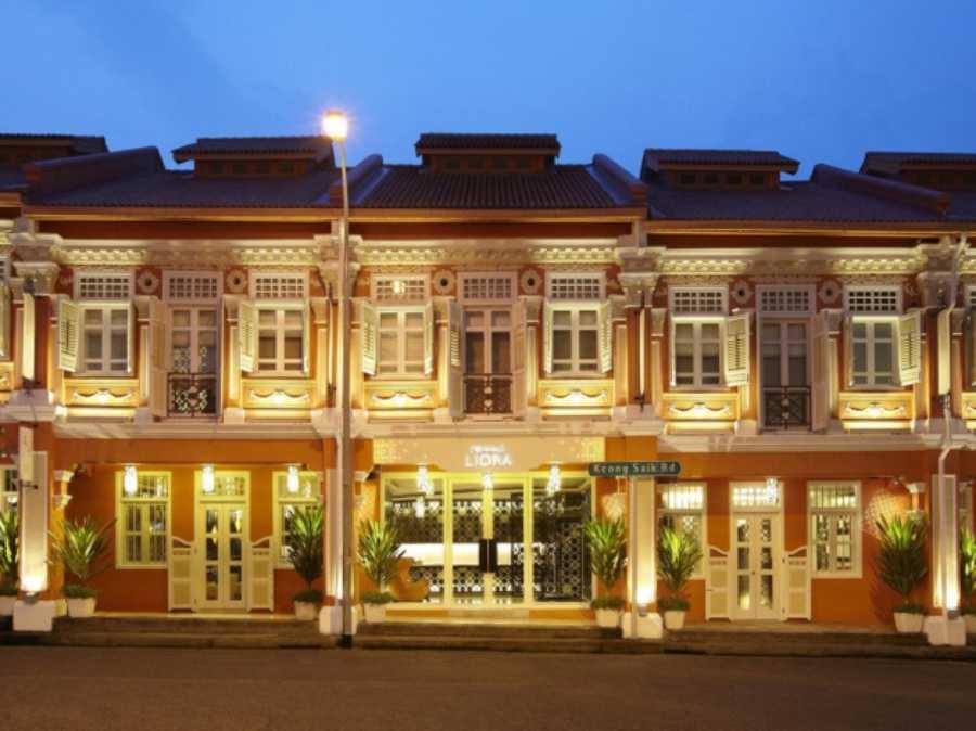 EXPLORE THE BEAUTIFUL HERITAGE BUILDINGS ALONG KEONG SAIK FROM THE NAUMI LIORA HOTEL. PHOTO CREDIT:NAUMI LIORA