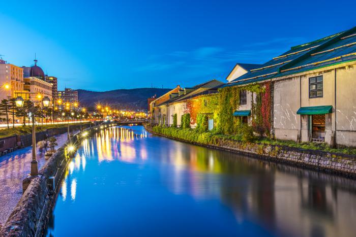 Hokkaido Attractions: Otaru Canal
