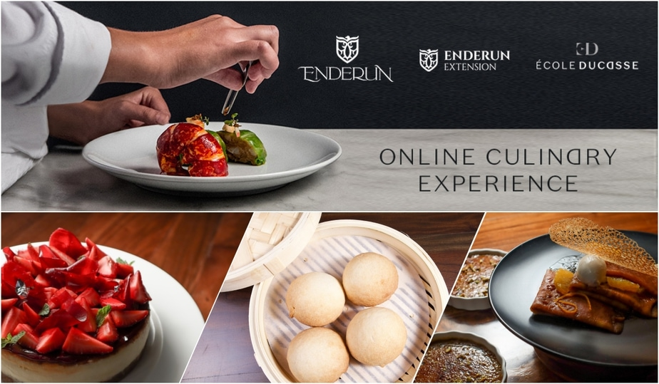 Go On A Food Trip Around The World In The Comfort Of Your Home Through The École Ducasse Online Culinary eXperience by Enderun