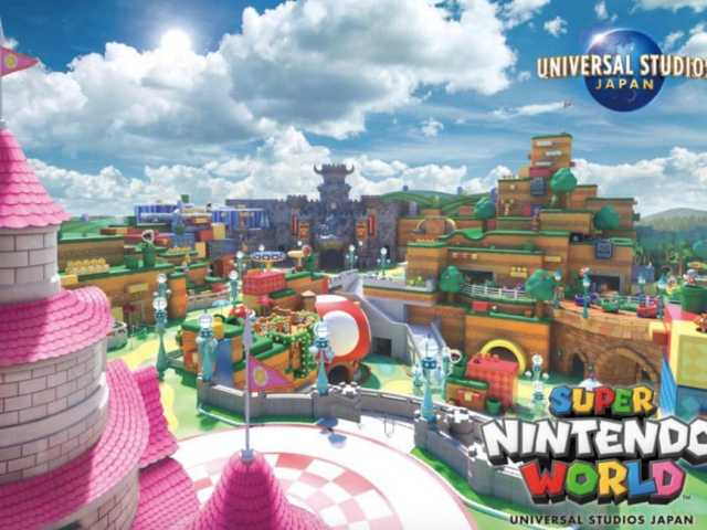 Super Nintendo World Is Opening In Universal Studios Japan This Year And We Are SO Excited