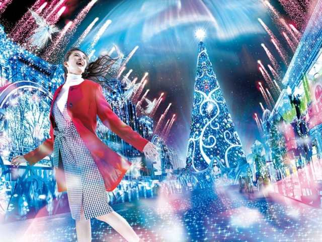 Spend An Enchanting Christmas At Universal Studios Japan