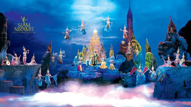 The Siam Niramit Show is considered the world's highest stage by the Guinness World of Records