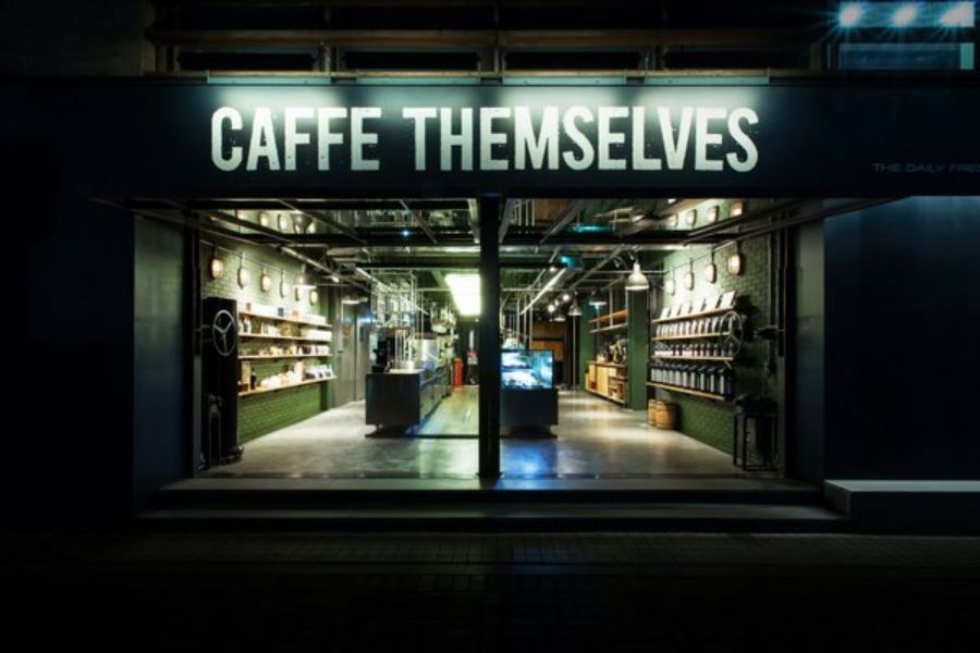 Caffe Themselves in Seoul