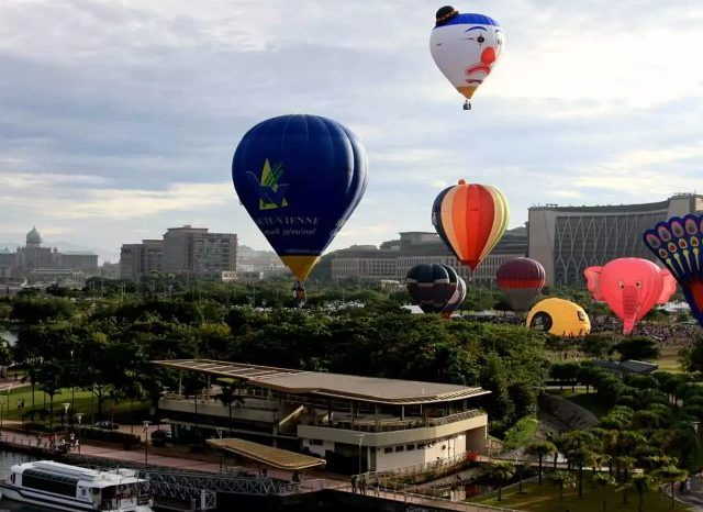 Soar To The Skies: Hot Air Balloon Experience In Serdang
