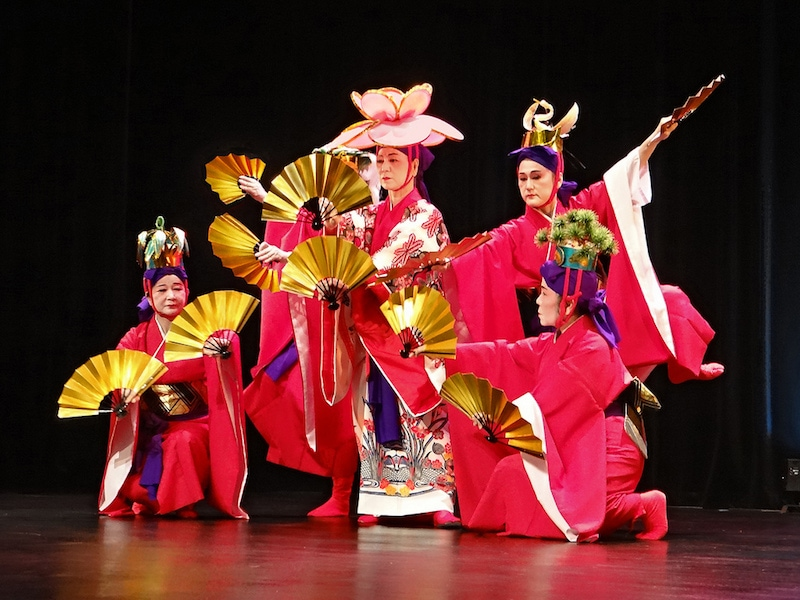 Things to do in Okinawa During Winter: Ryukyu Dance
