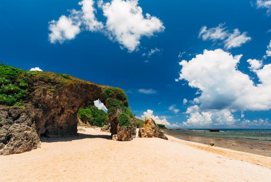 Nakabuang Arc on Sabtang Island, Batanes