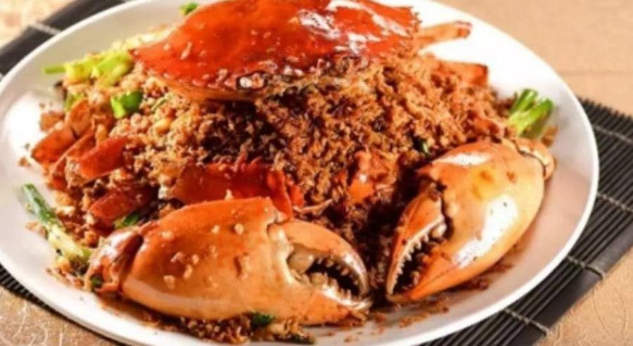 wan chai spicy crab dish