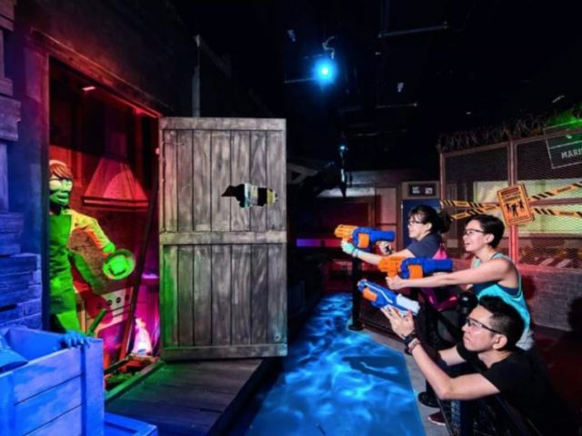 Experience a Thrilling Weekend with Friends at Nerf Action Xperience