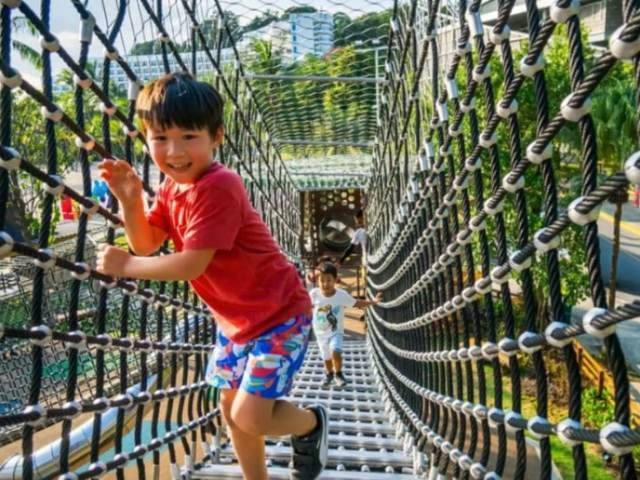 Your Kids Will Love Getting Active At This Massive Playground On Sentosa Island!
