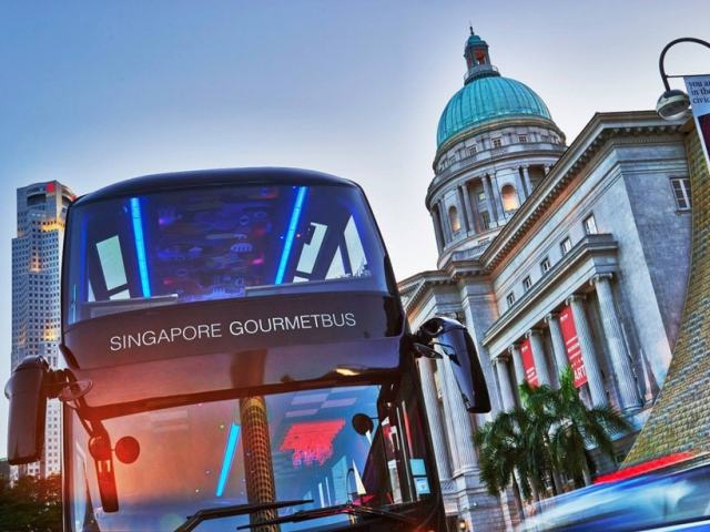 There's A Bus In Singapore That Will Take You On A Gastronomic Journey On The Road