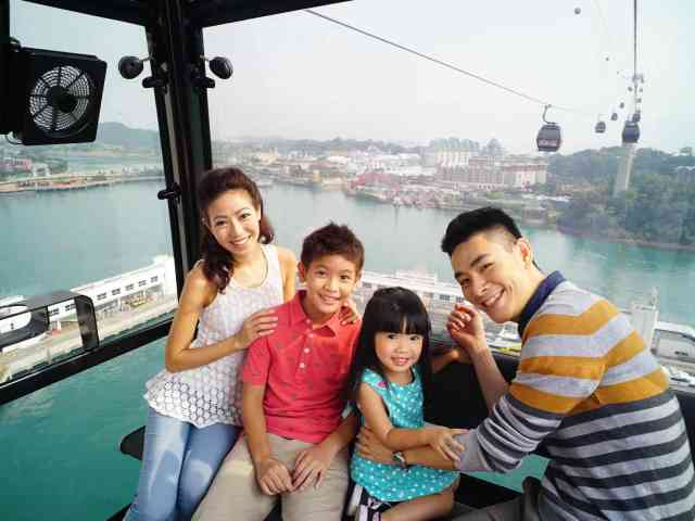 singapore cable car family package one faber group