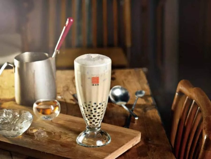 bubble tea pearl milk tea from Taichung