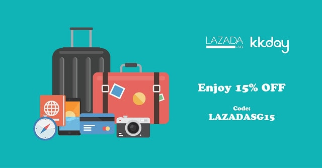 KKday x Lazada Kick-off Sale