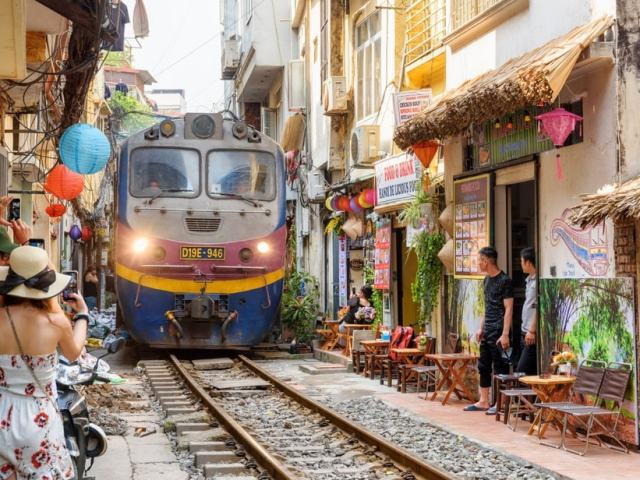 Cafes By Hanoi's Famous Train Street Have Been Shut Down