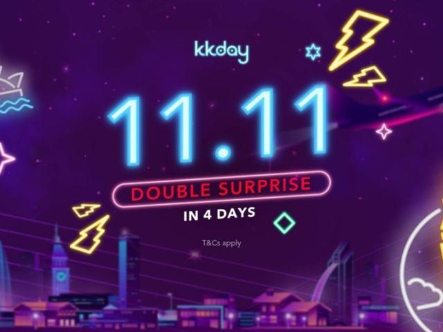 Score Buy 1 Take 1 Deals, Discounts in KKday 11.11 Sale