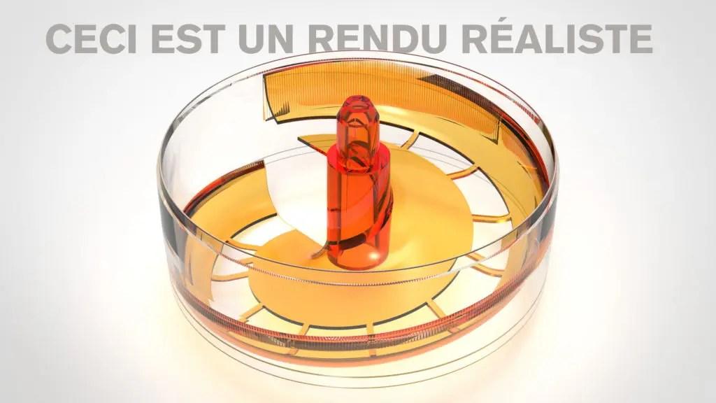 Rendu réaliste design produit