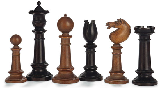 Turning A Chess Set