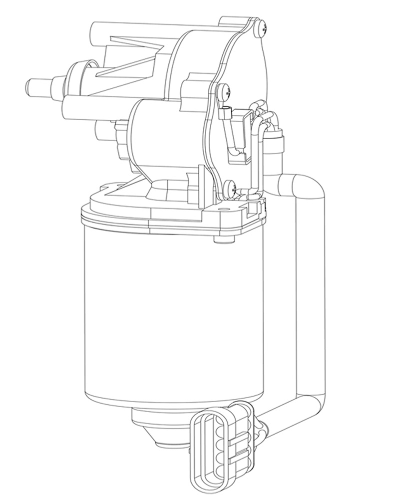 Wiper motor-two stage deceleration structure_History