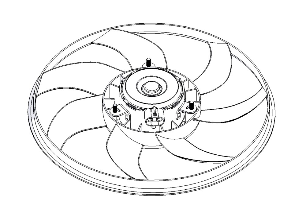 medium resolution of fan motor without frame