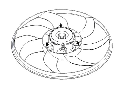 small resolution of fan motor without frame