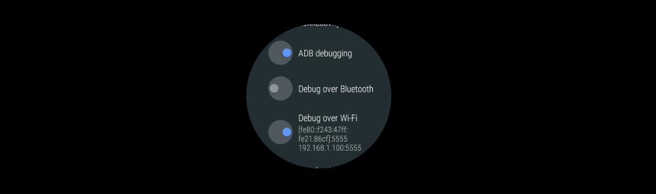 Android Wear Connect/Debugging