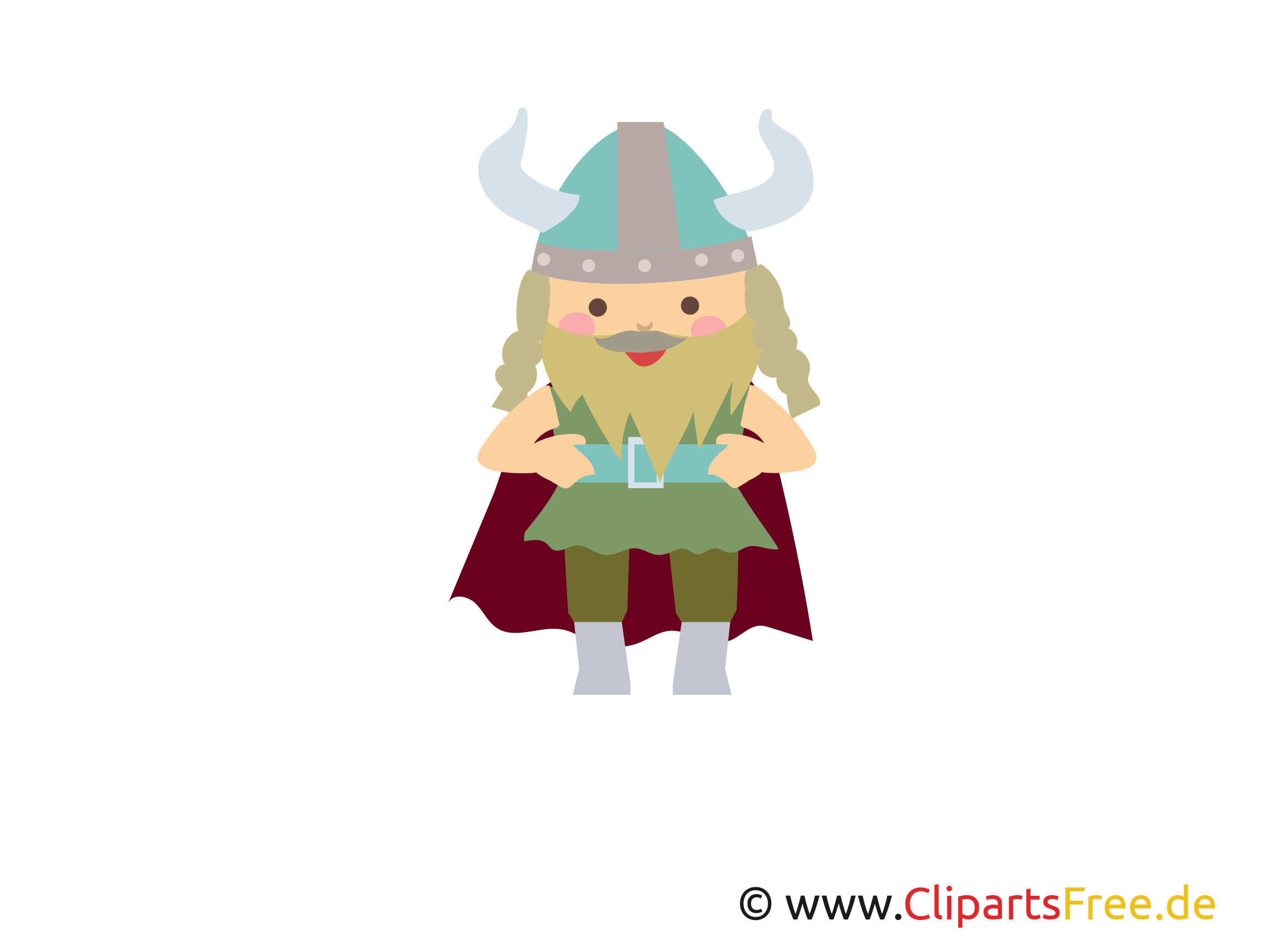 Vikings Free Clipart Picture Illustration Graphic