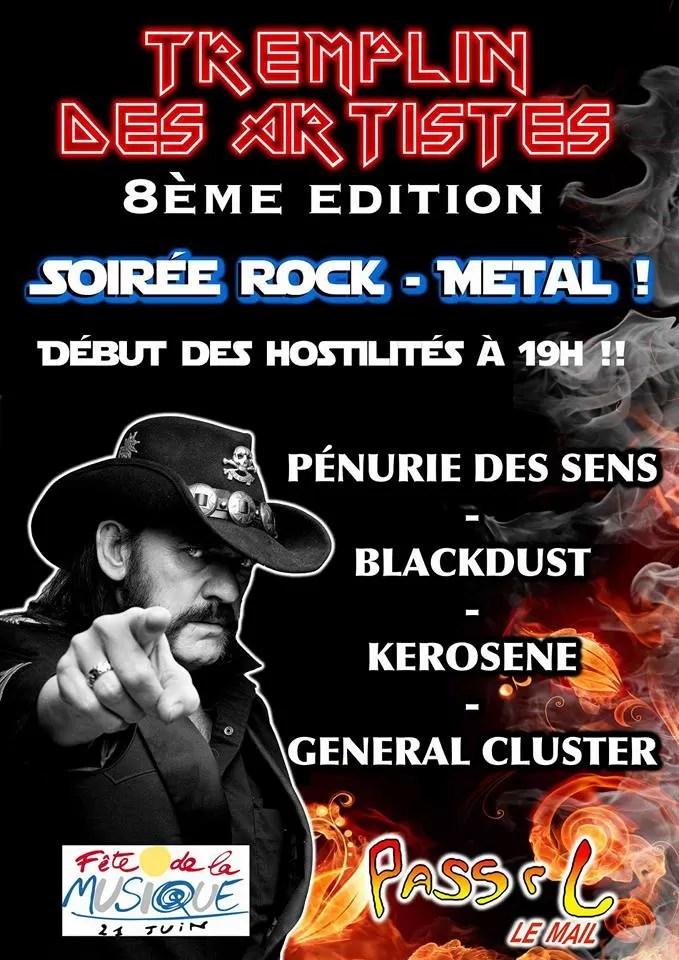 Concert Fete De La Musique 2016 : concert, musique, Fête, Musique, Voiron, 21/06/2016, Rhone, Alpes, France, Concerts-Metal, Calendar