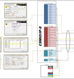 connection diagram for delta vfd e series and csmio ip s [ 1504 x 950 Pixel ]
