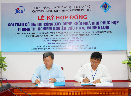 Contract Signing Ceremony for Package 05 and 06